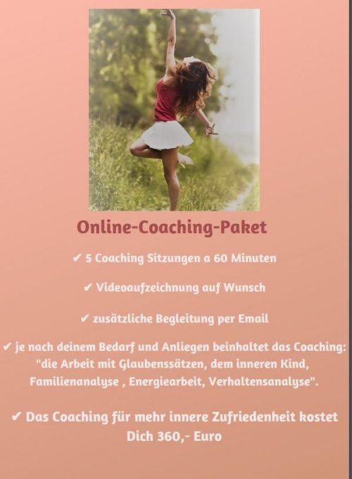 Online-Coaching-Paket 3Stunden