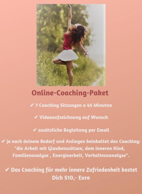 Online-Coaching-Paket 7 Sitzungen